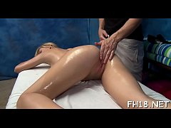 See as these cute 18 year old beauties get a surprise happy ending by their massage therapist!