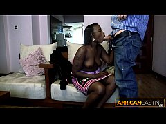Black Ho Deep Throats 10 Inch Dick for a Job