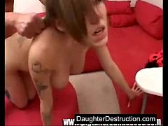 Daddy loves to fuck daughter