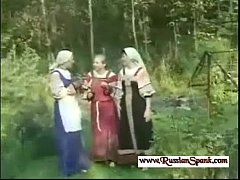 Severe Spanking For Russian Girl in The Forest