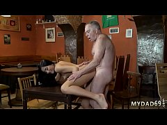 Old men gangbang young girl Can you trust your girlduddy leaving her