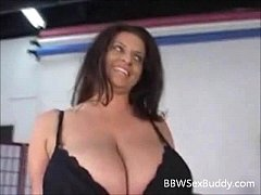Hot BBW MILF With HUGE Boobs Gets Drilled