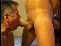 Hung Spanish Twink Gets Sucked By Daddy