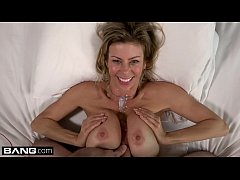 BANG Real MILFs  Alexis Fawx flashing & sucking cock pooside