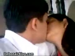 Kissing indian