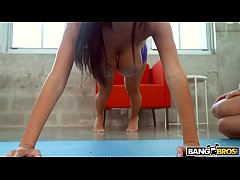 BANGBROS - Big Tits Latina Victoria June's First Creampie on BTCP