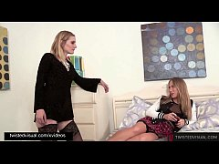 Evil Stepmom Revenge Fucks Her Step Daughter Carter Cruise While Dad Isn't Home