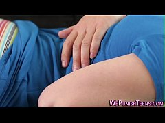 Punished and spanked teen