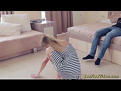 flexi sex contortion with a cute teen