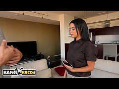 BANGBROS - My Package Was Broken, So I Made Her Pay For It With Her Mouth