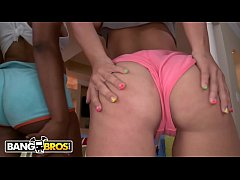 BANGBROS - Hoops of Dreams! feat. Aryana Adin, Paris Sweetz, and Elizabeth Bentley (Part 2 of 2)
