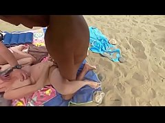 fucked by voyeur at beach