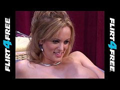 Stormy Daniels Performing in a Throwback 2004 Flirt4Free Cam Show