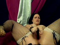 Stockings Can't Stop Squirting Repeat Orgasm