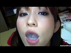 Japanese Girl Swallows Multiple Loads Of Thick Cum