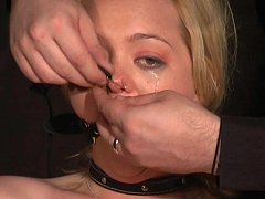 Crying Donnas Ballgagged Humiliation and Electro Pain