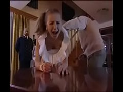 Girl Punished hard spanking with belt