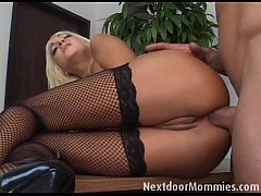 Clip sex Blonde mature mom takes it anal