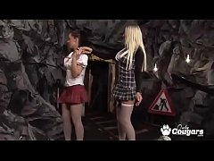 Cindy Behr and Kaia Kane Have A Threesome With A Demon
