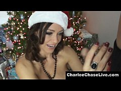 All I Want For Xmas is A Blowjob From Busty MILF Charlee Chase