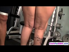 Bbw Carmella Bing Gets Shaved Pussy Banged In Gyme-gym-hd