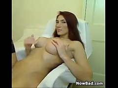 Busty British Beauty Masturbates