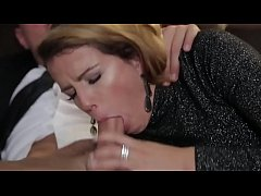 christmas gift for horny wife a double cuckold fuck