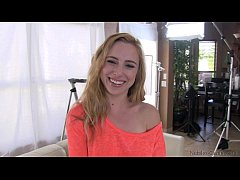 Nubiles Casting - Can she take it deep enough t...