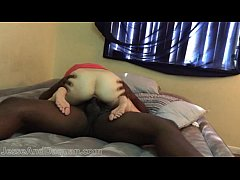 Interracial college couple big cock ramming