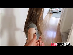 young petite stepdaughter gracie may green makes her stepdad feel better by letting him fuck her pov