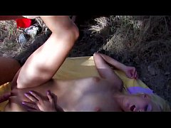 French amateur fucking filmed outdoor Vol. 20