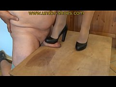 Miss Katarina extreme high heels CBT and trample