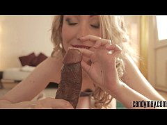 Candy May - Boyfriend's BBC handjob