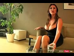 Hot and horny Cougar Stepmother seduces her Ste...