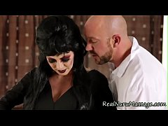 Goth nuru masseuse jerk