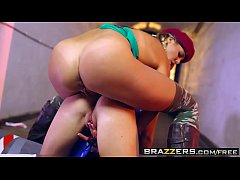 Brazzers - Hot And Mean - Christen Courtney and Rina Ellis -  Sex Fighter Chun Li vs. Cammy (XXX Parody)