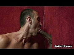 Gloryhole and Handjob Porn Gay Videos 25