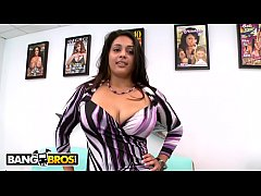 bangbros - big tits latina shows off her curvy figure and gets to business