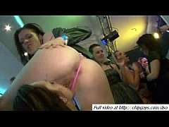 Group orgy action on party