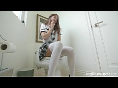 Naughty Schoolgirl Riley Reid Learns a Lesson
