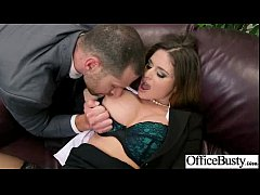 Office Sex Tape With Naughty Lovely Bigtits Girl movie-11