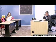 Brazzers - Big Tits at School - The Make-Up Exam scene starring Nina North and Jessy Jones