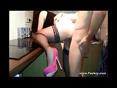 Creampie For Real Amateur Stockings Babe