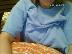 amateur girl play on webcam  (4)