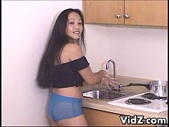 Loni for asian Kitchen sex