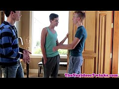 Twink twink threeway with Zak Reed
