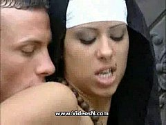 Real nun fuck in Church Area