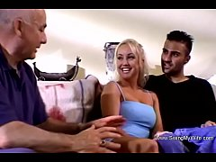Blonde Housewife Classic Swinger