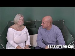 GILF Lacey Starr bent over and slammed