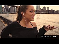 HD BLACKEDRAW Abigail Mac's Husband Sets Her Up With Biggest BBC In The World